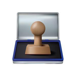 stempel-mit-logo